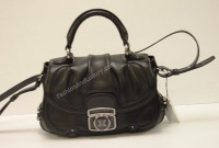 Woman Black Leather Bag